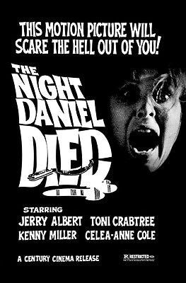 The Night Daniel Died - 1976 - Movie Poster