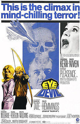 Eye of the Devil - 1966 - Movie Poster