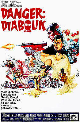 Danger Diabolik - 1968 - Movie Poster