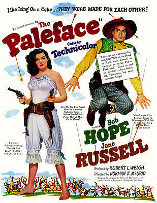 The Paleface - 1948 - Movie Poster