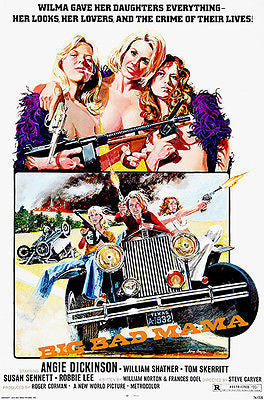 Big Bad Mama - 1974 - Movie Poster
