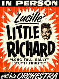 1950's Little Richard - Concert Poster