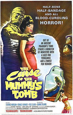 The Curse of the Mummy's Tomb - 1964 - Movie Poster