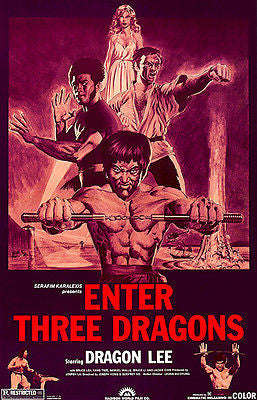 Enter Three Dragons - 1978 - Movie Poster