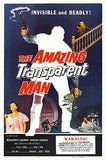 The Amazing Transparent Man - 1960 - Movie Poster