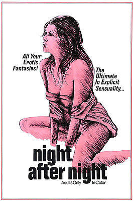 Night After Night - 1976 - Movie Poster