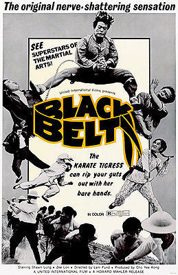 Black Belt - 1974 - Movie Poster