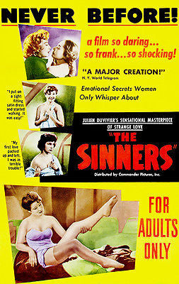 The Sinners - 1949 - Movie Poster
