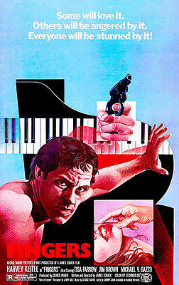 Fingers - 1978 - Movie Poster