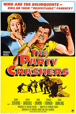 The Party Crashers - 1958 - Movie Poster