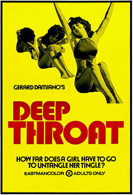 Deep Throat - 1972 - Movie Poster