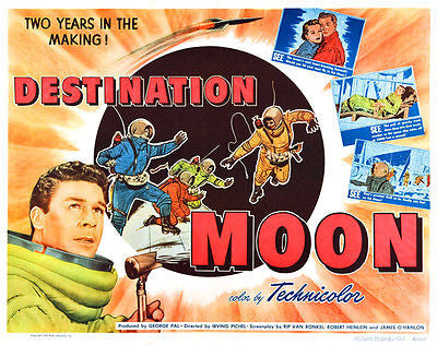 Destination Moon - 1950 - Movie Poster