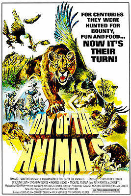 Day of the Animals - 1977 - Movie Poster