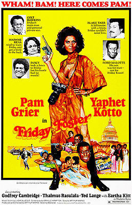 Friday Foster - 1975 - Movie Poster
