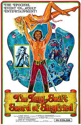 The Long Swift Sword Of Siegfried - 1971 - Movie Poster