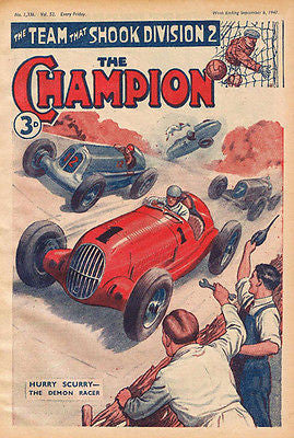The Champion #52 - Comic Book Cover Poster
