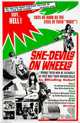 She-Devils On Wheels - 1968 - Movie Poster