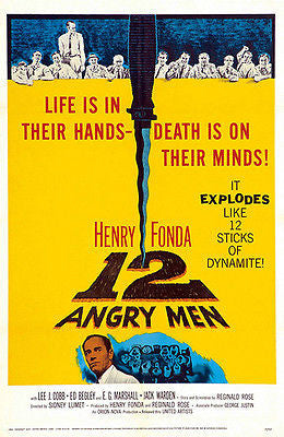 12 Angry Men - 1957 - Movie Poster