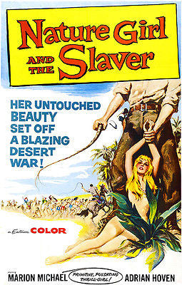 Nature Girl And The Slaver - 1957 - Movie Poster
