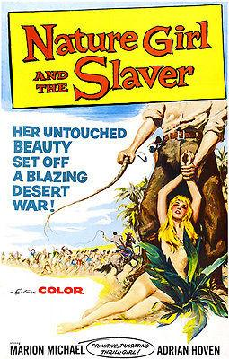 Nature Girl And The Slaver - 1957 - Movie Poster Mug