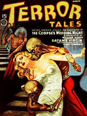 Terror Tales - March 1940 - Magazine Cover Magnet