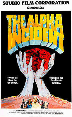 The Alpha Incident - 1978 - Movie Poster