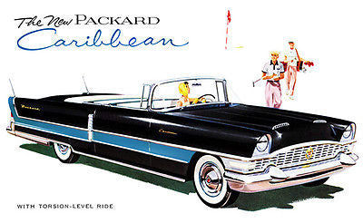 1955 Packard Caribbean - Promotional Advertising Poster