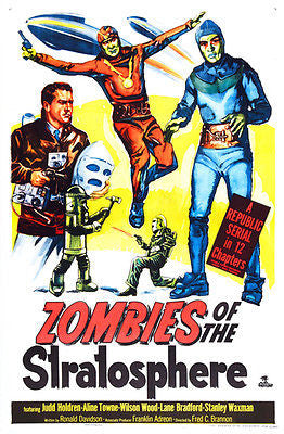 Zombies of the Stratosphere - 1952 - Movie Poster