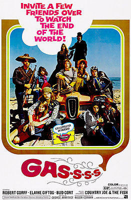 Gas-s-s-s - 1971 - Movie Poster