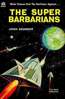 The Super Barbarians - 1962 - Science Fiction Novel Cover Magnet