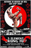 5 Element Kung Fu - 1978 - Movie Poster