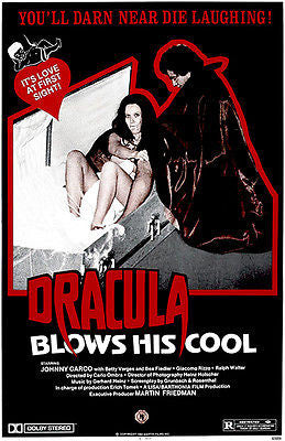 Dracula Blows His Cool - 1979 - Movie Poster