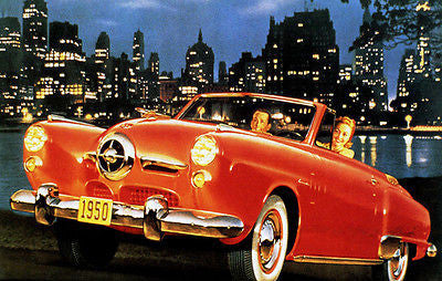 1950 Studebaker - Promotional Advertising Poster