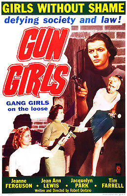 Gun Girls - 1957 - Movie Poster