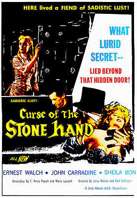 Curse of the Stone Hand - 1965 - Movie Poster