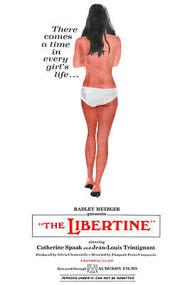 The Libertine - 1968 - Movie Poster