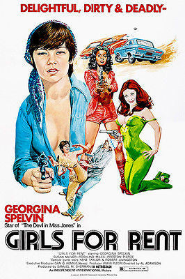 Girls For Rent - 1974 - Movie Poster