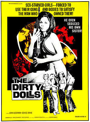 The Dirty Dolls - 1973 - Movie Poster