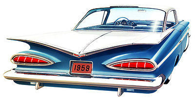 1959 Chevrolet Impala #2 - Promotional Advertising Poster