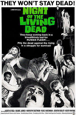 Night Of The Living Dead - 1968 - Movie Poster