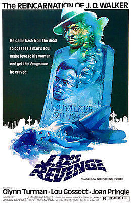 JD's Revenge - 1976 - Movie Poster
