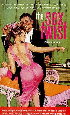 The Sex Twist - 1963 - Pulp Novel Cover Magnet