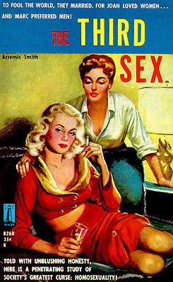 The Third Sex - 1959 - Pulp Novel Cover Magnet