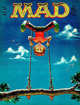 MAD Magazine #58 - October 1960 - Cover Poster