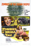 Zombies of Mora Tau - 1957 - Movie Poster