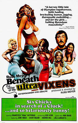 Beneath the Valley of the Ultra Vixens - 1979 - Movie Poster
