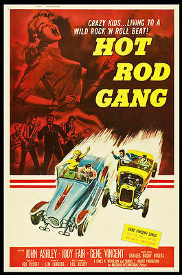 Hot Rod Gang - 1958 - Movie Poster