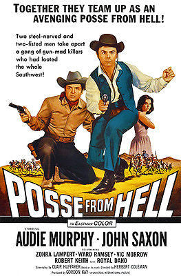 Posse From Hell - 1961 - Movie Poster