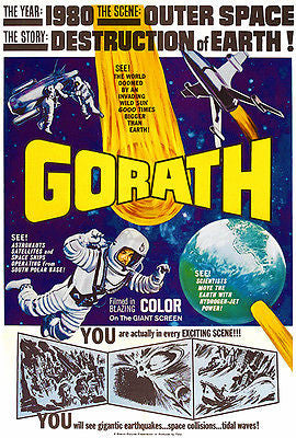 Gorath - 1962 - Movie Poster
