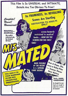 Mis-Mated - 1952 - Movie Poster Mug